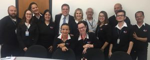 Reunião de trabalho com a equipe da OAB Guarulhos