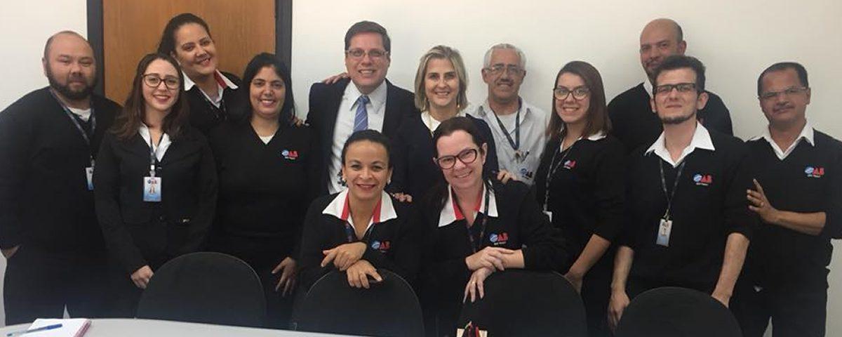You are currently viewing Reunião de trabalho com a equipe da OAB Guarulhos