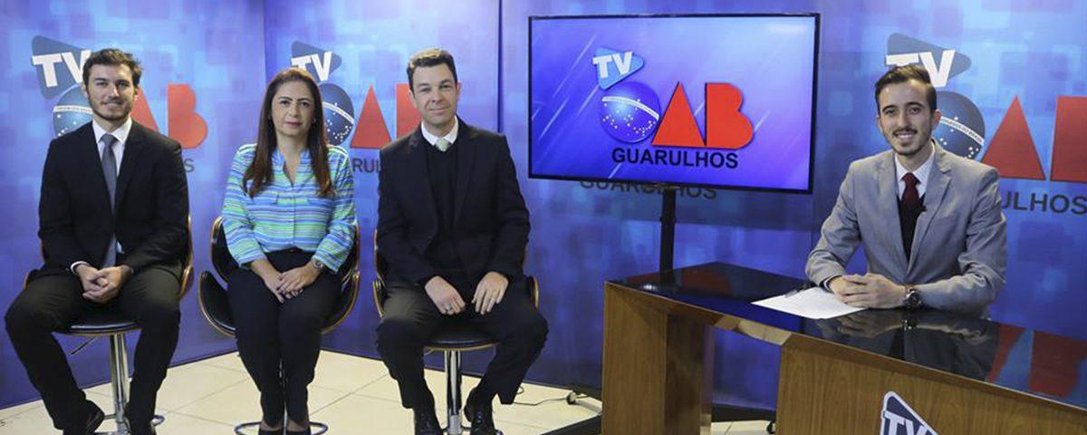 Gravação Programa TV OAB Guarulhos