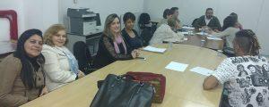Comissão da Mulher Advogada da OAB Guarulhos participou da reunião da Comissão de Constituição e Justiça da Câmara Municipal de Guarulhos.