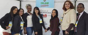 Comissão da Jovem Advocacia da OAB Guarulhos presente no evento social Islam Solidário.