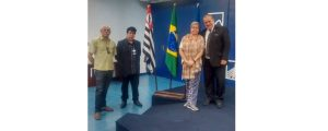 Comissão de Apoio a Segurança Pública da OAB Guarulhos participa de encontro no paço municipal da prefeitura de Guarulhos.