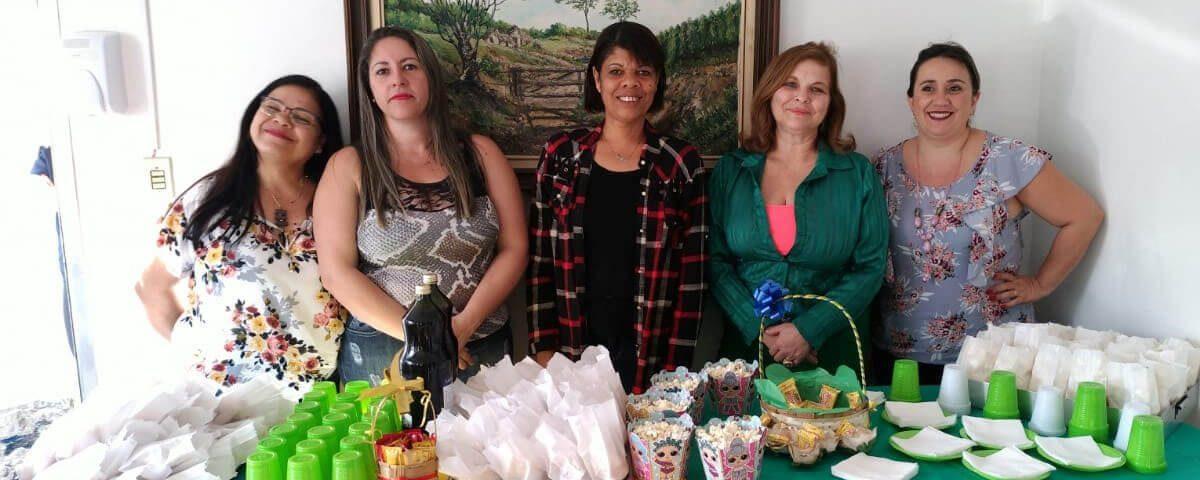 """Comissão da Mulher Advogada realiza festa Julina e café da tarde na Casa de Passagem """"Dando Um Tempo""""."""