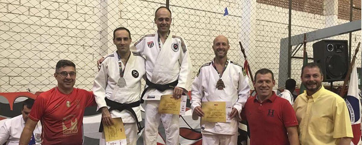 Vice-Presidente para Artes Marciais do Departamento de Esportes e Lazer vence em 2º lugar na Copa Brasil de Judô em Ribeirão Preto.