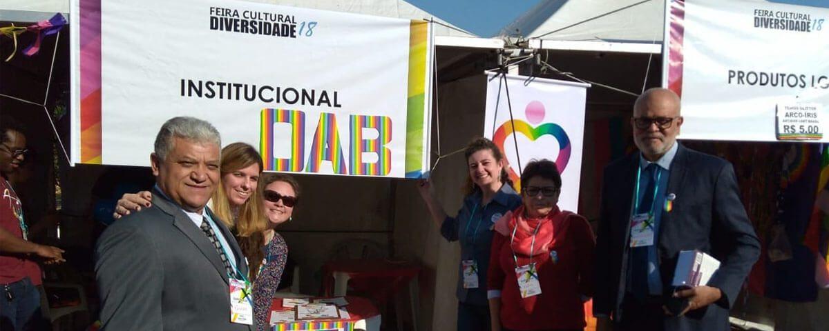 Núcleo da Diversidade Sexual da Comissão de Direitos Humanos e Minorias da OAB Guarulhos participou da Feira Cultural da Diversidade 18, promovida pela Subsecretaria de Políticas da Diversidade da Prefeitura de Guarulhos.