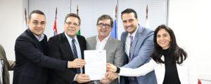 OAB Guarulhos assina convênio de cooperação técnica com a Prefeitura Municipal de Guarulhos.
