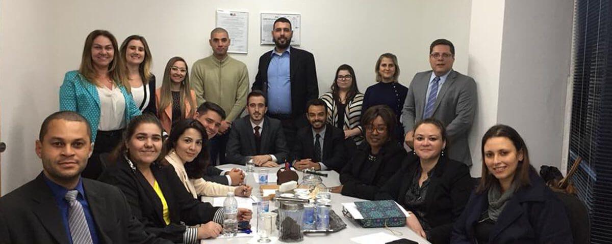 Reunião da Comissão Organizadora do Congresso da Advocacia de Guarulhos 2018.