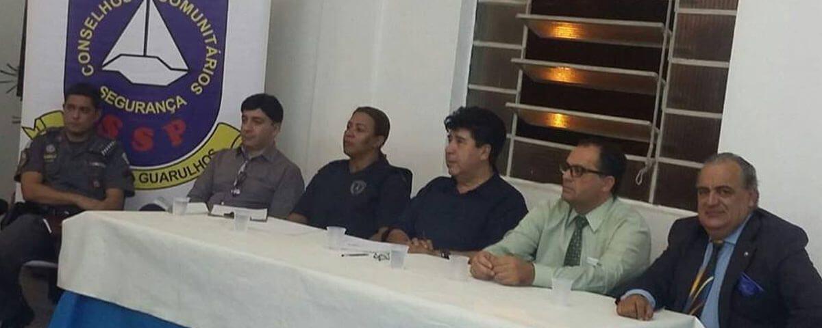 OAB Guarulhos presente em Reunião Ordinária do Conselho Comunitário de Segurança Pública – CONSEG.
