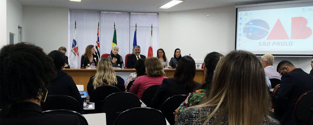 """Workshop: """"Direitos Humanos como Instrumento para o Exercício da Advocacia""""."""