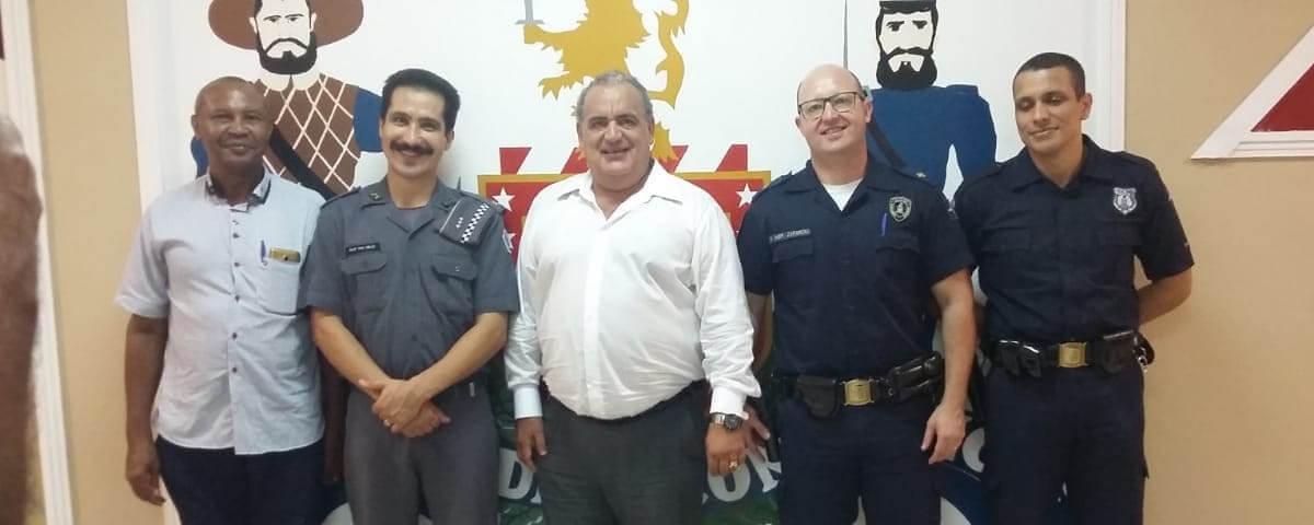 Comissão de Apoio a Segurança Pública da OAB Guarulhos participa da Reunião Ordinária do CONSEG.