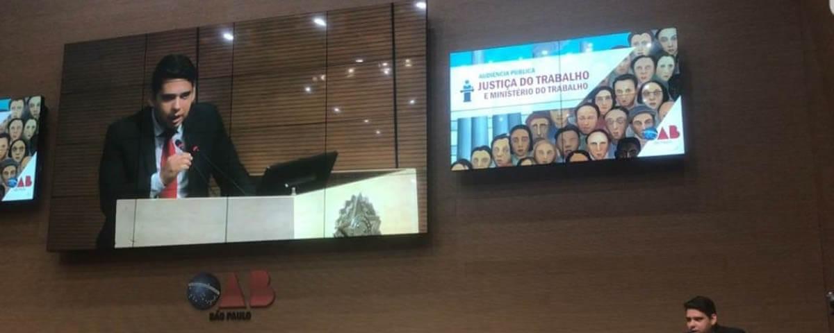 OAB Guarulhos a favor da Sociedade e em defesa da Advocacia e da Democracia.