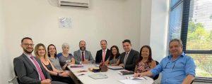 Reunião dos Diretores Executivos e Adjuntos da OAB Guarulhos.