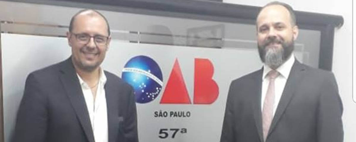 You are currently viewing OAB Guarulhos recebe o Vice-Prefeito Dr. Alexandre Zeitune.