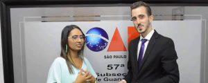 A Comissão de Comunicação da OAB Guarulhos conversou com a mais nova Estagiária inscrita na subseção, Camila Aparecida Nunes.