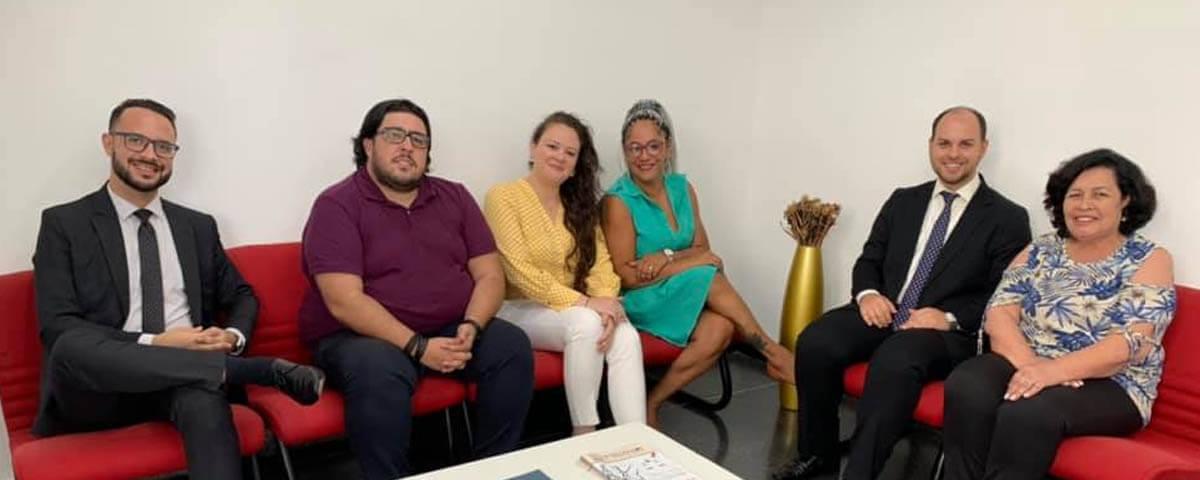 You are currently viewing OAB Guarulhos recebe representantes da OAB Mogi das Cruzes.