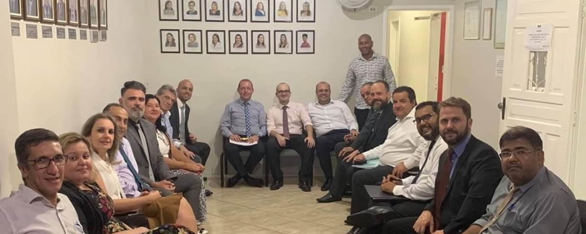 You are currently viewing Reunião do Colégio de Presidentes do Alto Tietê