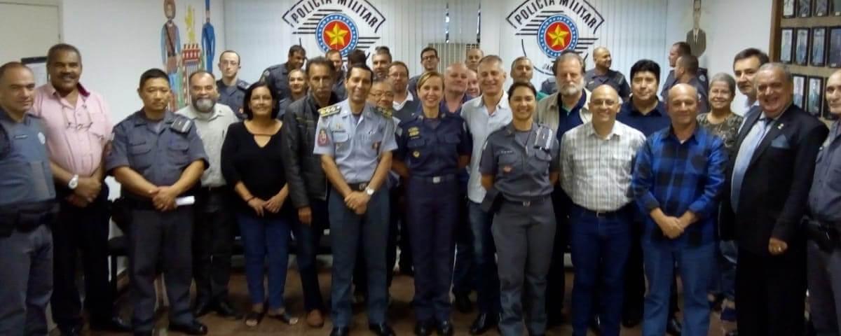 OAB Guarulhos participa da reunião do CONSEG Bom Clima