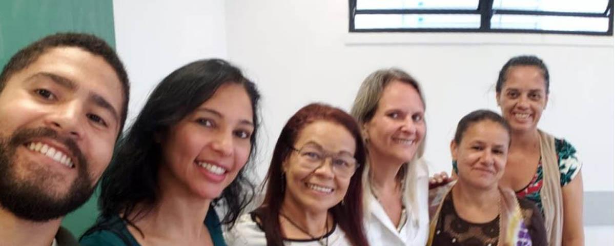 "Diretora Adjunta da OAB Guarulhos ministra palestra sobre ""Violência Doméstica e Feminicidio"" na Escola Estadual Victor Civita."