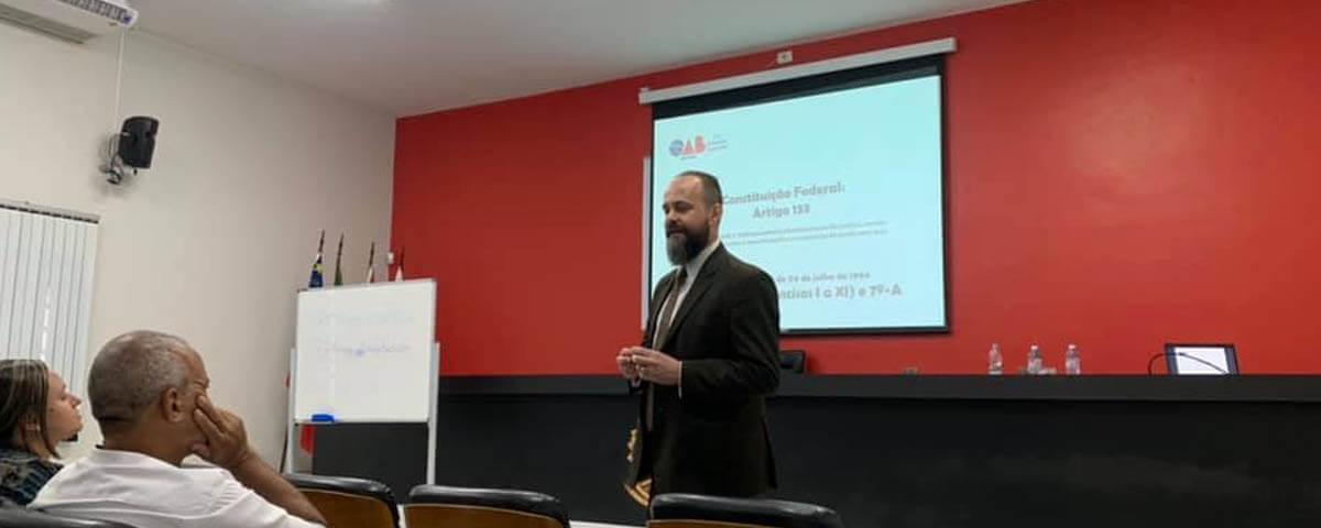 OAB Guarulhos participa do Curso de Introdução à Advocacia promovido pela OAB Mogi das Cruzes.