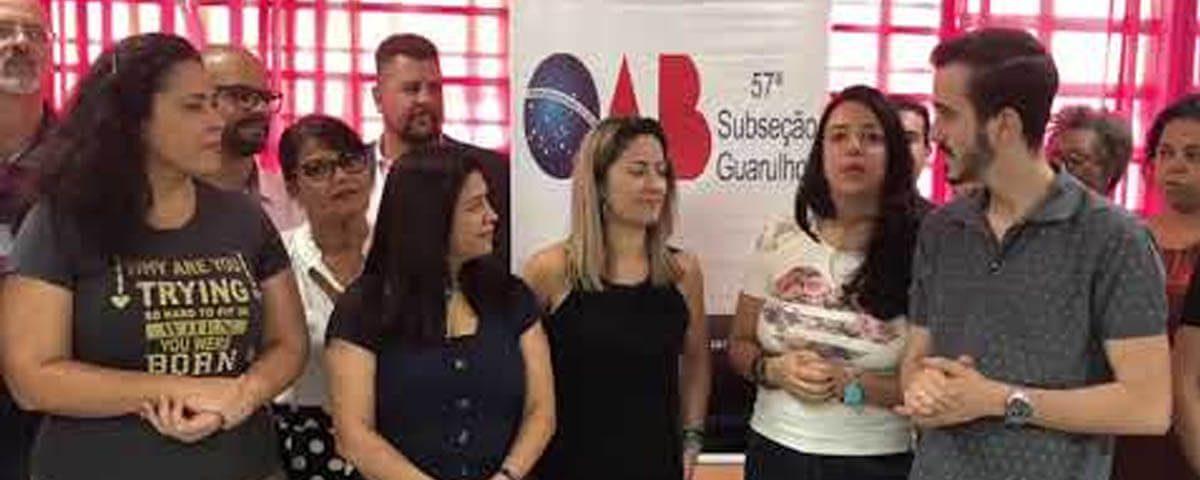(Vídeo) – OAB Guarulhos presente em Ação de Cidadania promovida no Bairro dos Pimentas