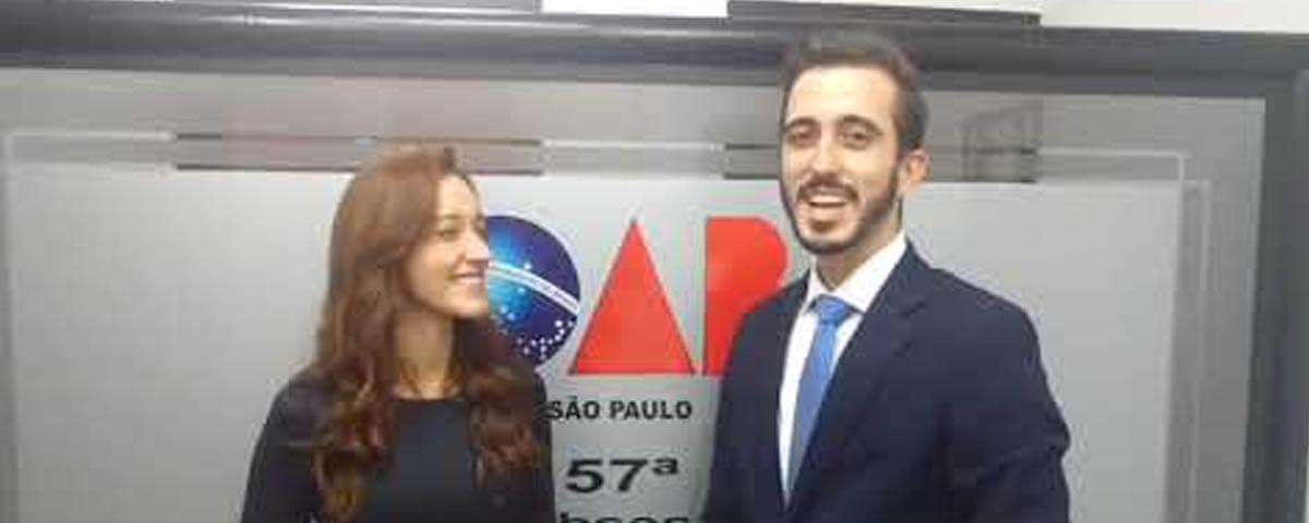 (Vídeo) IV Solenidade de Entrega de Carteiras – Entrevista com Dra. Rebeca Calchi