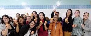 """Comissão OAB Vai à Escola palestra sobre """"Saúde e Bem-Estar"""" na Escola Manoel Bomfim"""