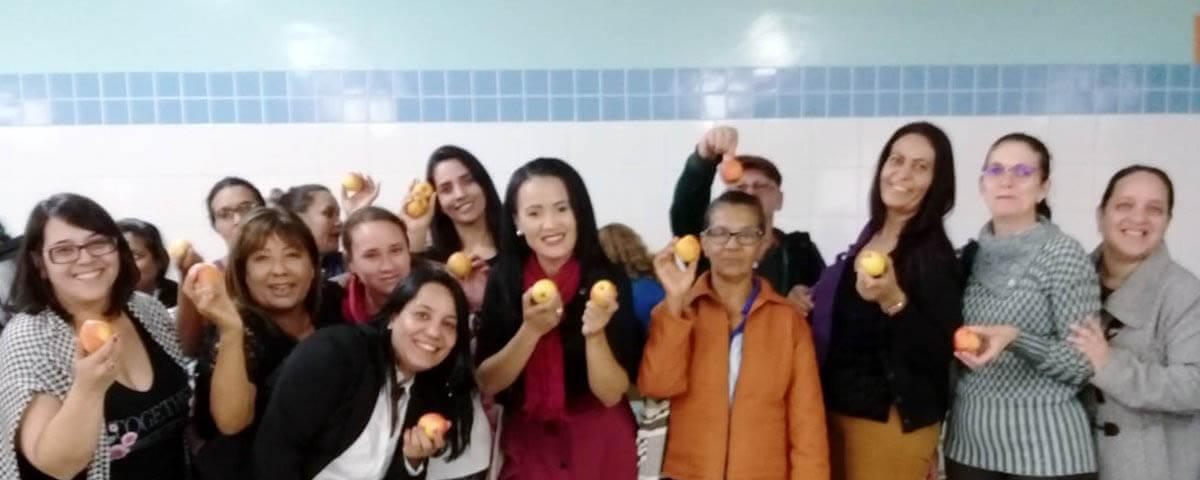 """You are currently viewing Comissão OAB Vai à Escola palestra sobre """"Saúde e Bem-Estar"""" na Escola Manoel Bomfim"""