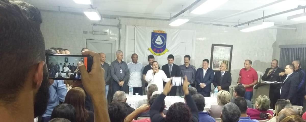 OAB Guarulhos presente na Posse da Nova Diretoria do Conselho Comunitário de Segurança (CONSEG)