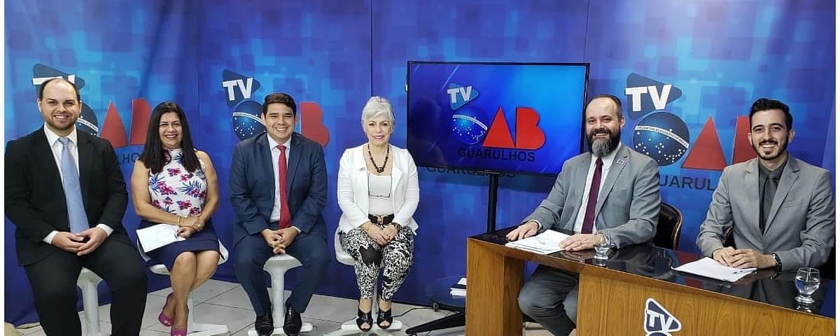 Retornamos com as gravações do Programa TV OAB Guarulhos. 🎥