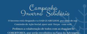 """(Vídeo) """"Campanha Inverno Solidário"""", Participe!"""