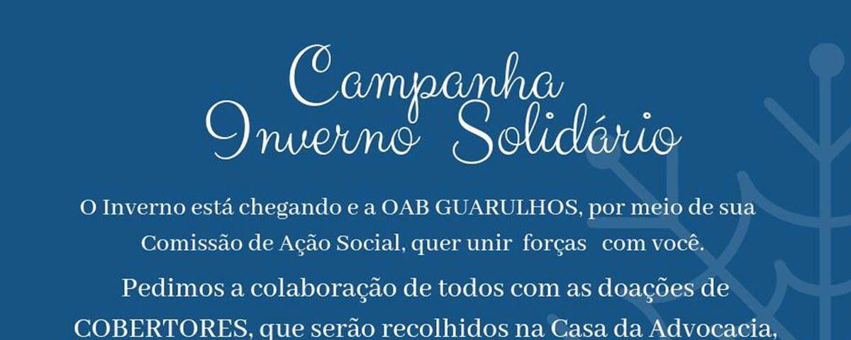 (Vídeo) Campanha Inverno Solidário, participe!