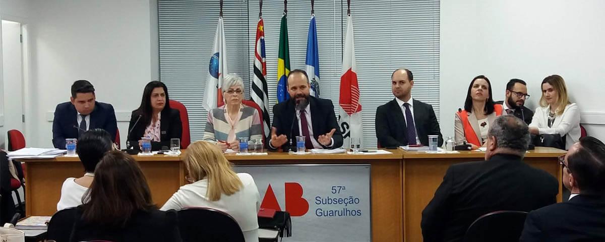 (Vídeo) V Reunião Geral de Comissões – Bate-papo com o Departamento Cultural e a Comissão de Direitos Humanos da OAB Guarulhos