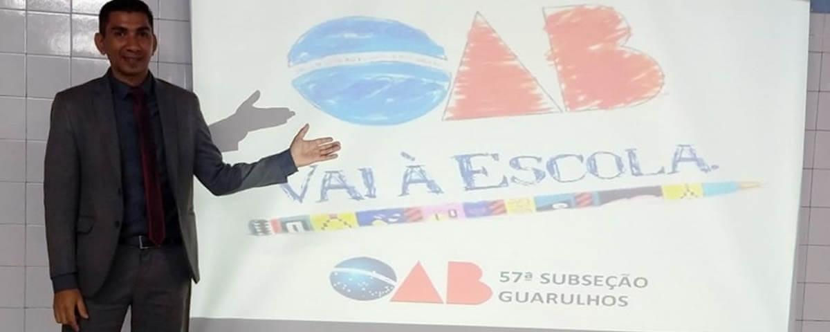 """Comissão OAB Vai à Escola ministra palestra sobre o tema """"Direitos Humanos"""""""