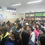 """Comissão OAB Vai à Escola palestra sobre """"Cidadania"""" na Escola Roberta Maria Lopes Chaves, no período matutino"""