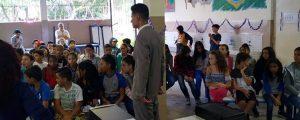 "Comissão OAB Vai à Escola palestra sobre ""Cyberbullying"" na Escola Roberta Maria Lopes Chaves – Período vespertino"