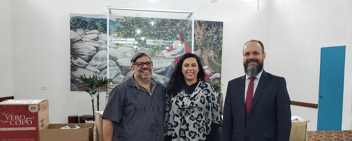 Comissão da Ação Social da OAB Guarulhos realiza doação dos leites em pó