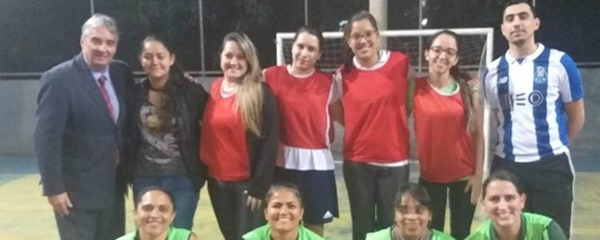 Equipe de Futsal Feminino da OAB Guarulhos realiza treino inaugural