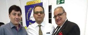Presidente da Comissão de Apoio à Segurança, esteve representando a 57a. Subseção OAB Guarulhos, na Reunião Ordinária do Conselho Comunitário de Segurança (CONSEG)