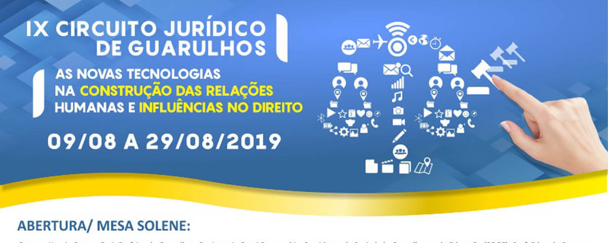 09/08 a 29/08 – IX Circuito Jurídico de Guarulhos
