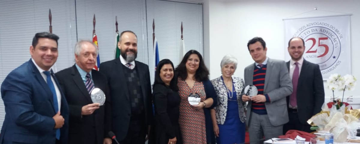 """Palestra: """"25 anos do Estatuto da Advocacia e da Ordem dos Advogados do Brasil"""""""