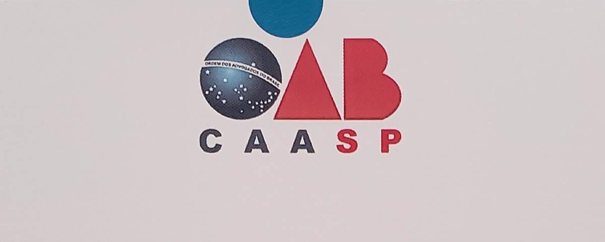 OAB Guarulhos agradece o apoio da CAASP/SP ao Projeto Anuário da Advocacia 2019