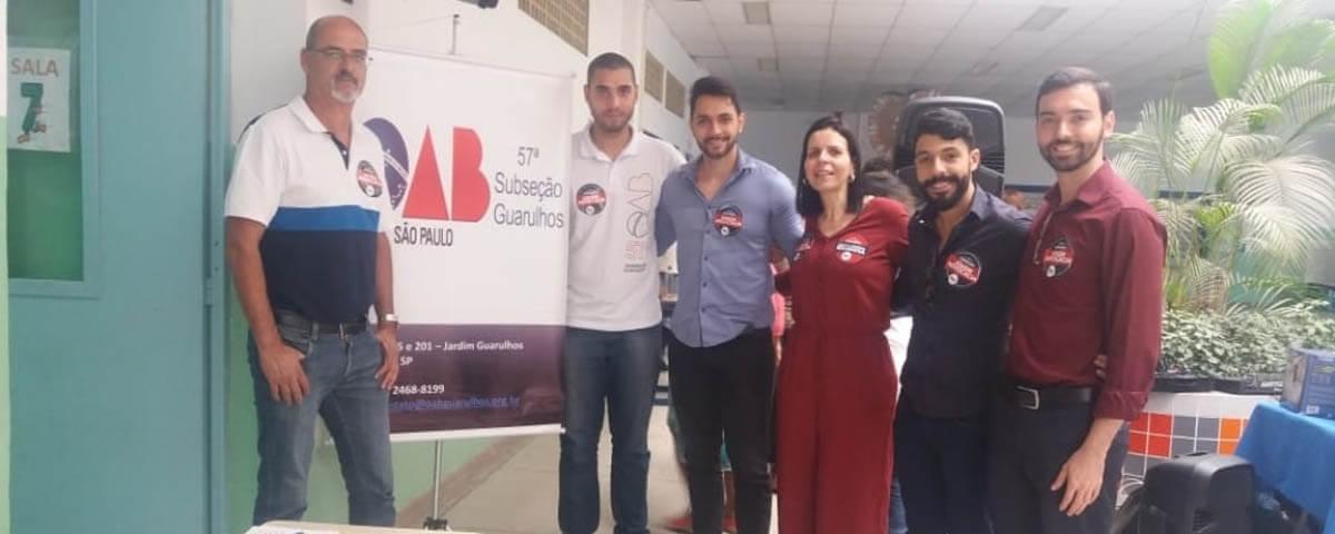 OAB Guarulhos participa de Ação Social realizada no CEU Ponte Alta
