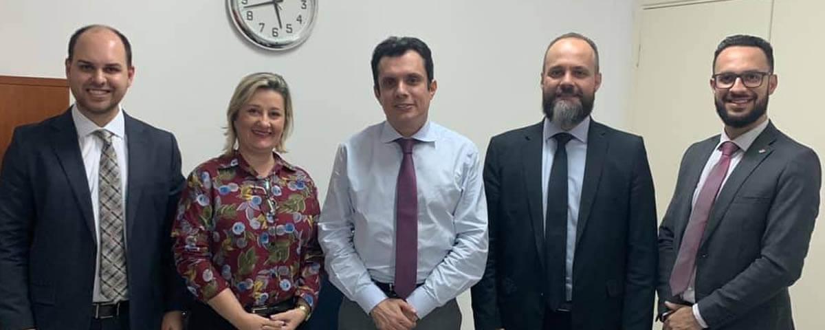 OAB Guarulhos reúne-se com o Juiz Diretor do Fórum Estadual