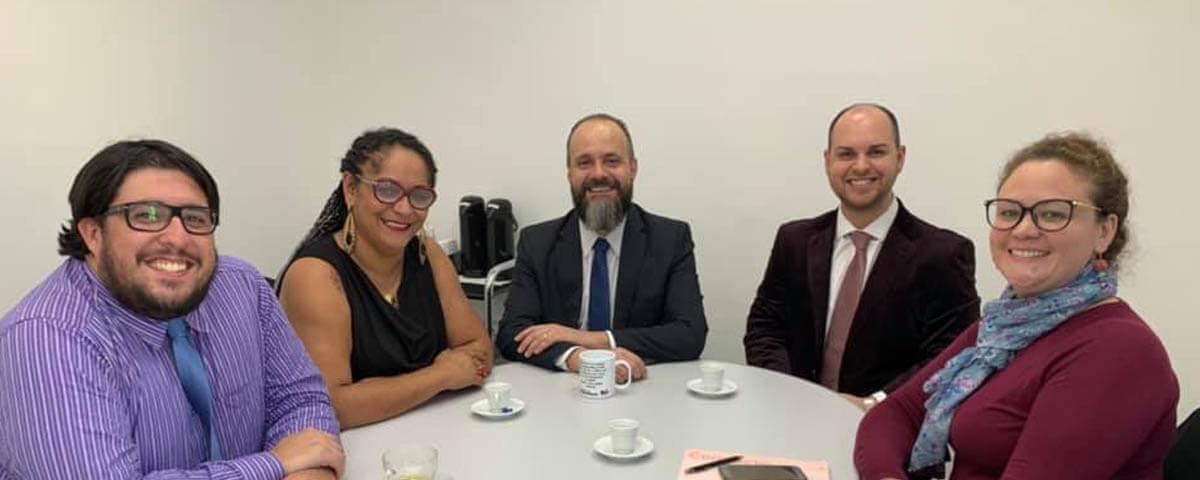 OAB Guarulhos recebe Comissão do Jovem Advogado da OAB de Mogi das Cruzes