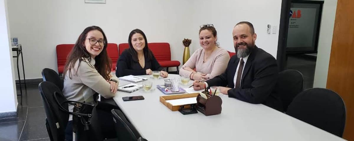 OAB Guarulhos recebe a Comissão da Jovem Advocacia da OAB Mairiporã