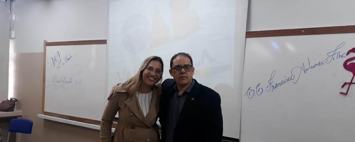 """Comissão OAB Vai à Escola realiza palestra sobre """"Direito Digital"""" na Escola Estadual Francisco Antunes Filho"""