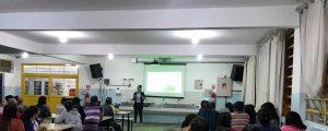 "Comissão OAB Vai à Escola realiza palestra sobre ""Violência Doméstica"" na Escola Anísio Teixeira"