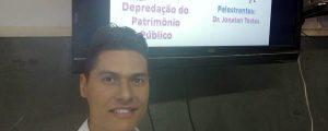 """Comissão OAB Vai à Escola realiza palestra sobre """"Depredação do Patrimônio Público"""" na Escola Profª Roberta Maria Lopes Chaves"""