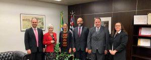 OAB Guarulhos recebida pela Presidente do Tribunal Regional do Trabalho da 2ª Região