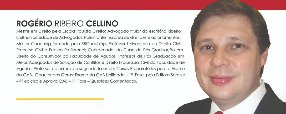 """05 a 26/11 – ESA Guarulhos – Curso: """"Prática de Recursos Cíveis"""""""